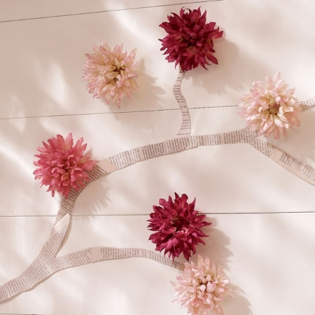 wall decor flowers thumb